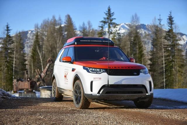 Project Hero, une version unique du nouveau Land Rover Discovery pour la Croix Rouge autrichienne  622272image3