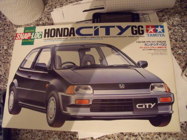 Honda Civic 1,5L GL de 1987. 623226MaTitineenmaquette