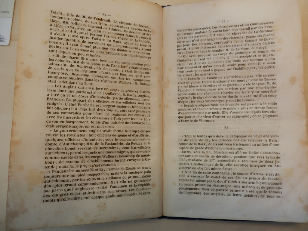 L'émigration Angevine par F. Grille - 1840 - partie 3 623761P6300718