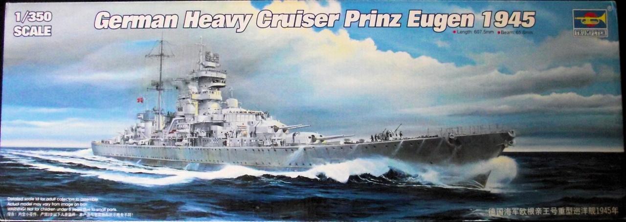 Prinz Eugen Trumpetter 1x350 avec PE Eduard 624765PrinzEugen1x3501
