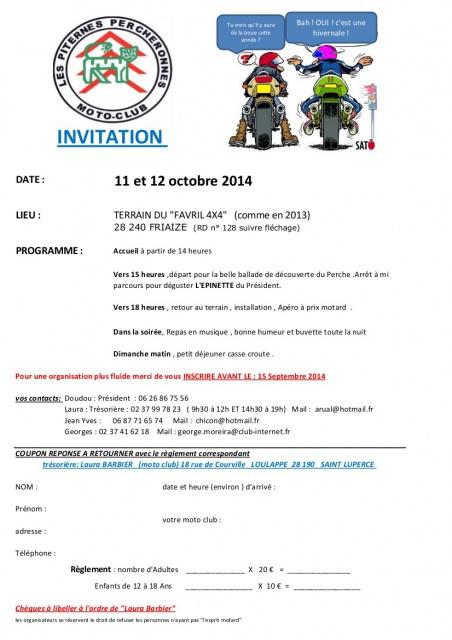 Rassemblement a Friaize(28) 11 et 12 10 2014 627157invita10