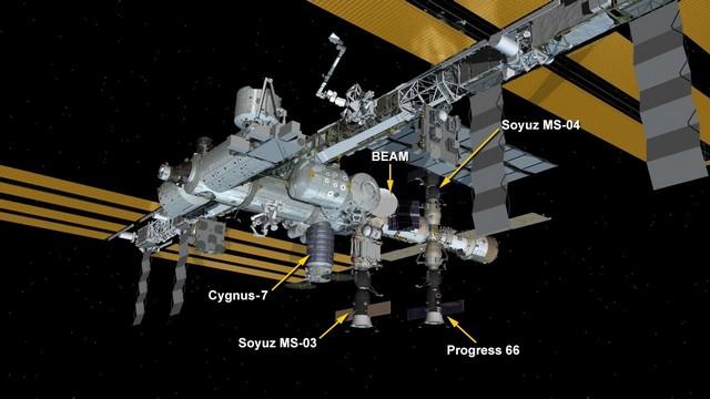 Atlas V (Cygnus OA-7) - 18.04.17 - Page 5 628204iss201704