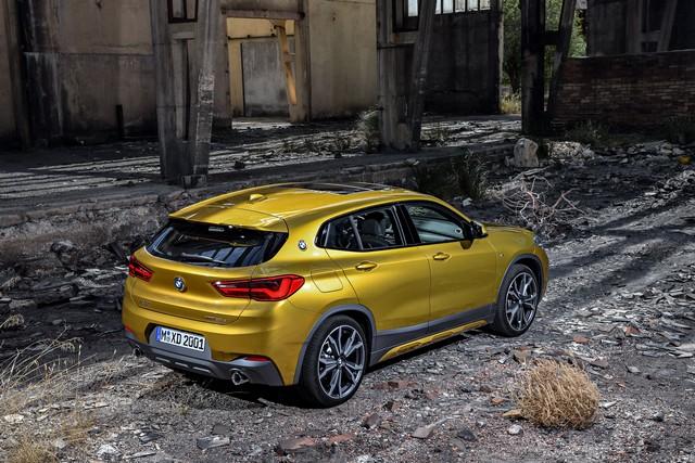 La nouvelle BMW X2 Silhouette élégante, dynamique exceptionnelle 629073P90278971highResthebrandnewbmwx2