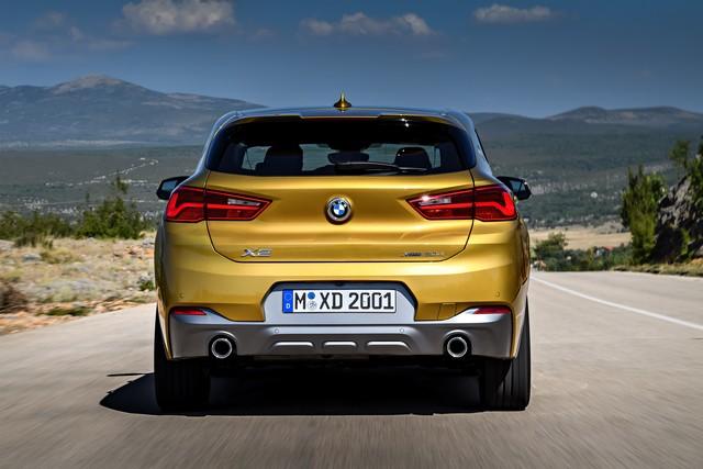 La nouvelle BMW X2 Silhouette élégante, dynamique exceptionnelle 629245P90278984highResthebrandnewbmwx2