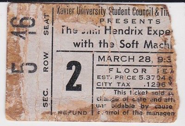 Cincinnati (Xavier University Fieldhouse) : 28 mars 1968  631427sl400