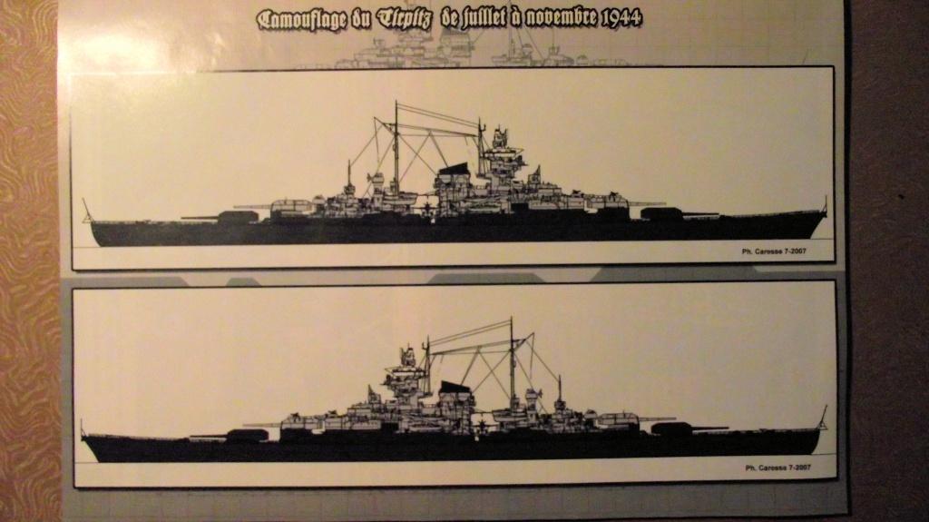 Tirpitz Revell au 1x350 avec PE 637413TirpitzRevell1x3503