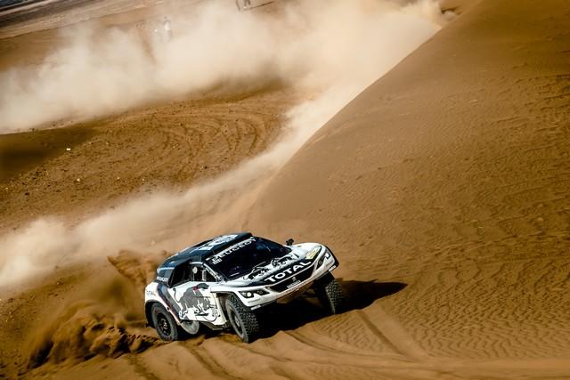 1ère VICTOIRE DE LA PEUGEOT 3008DKR Rallye du Maroc – Étape 3/5 63919157f52fd37ad66