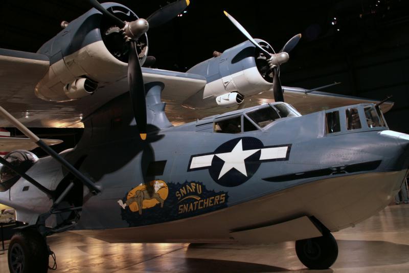CONSOLIDATED PBY CATALINA  639391CatalinaUSAFMuseum
