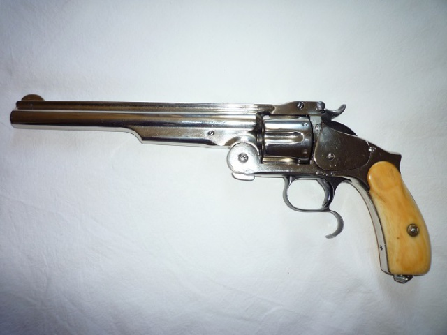 smith et wesson 44 russian n°3 third model 639627006a