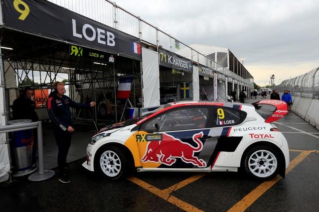 Troisième podium d'affilée pour Sébastien Loeb et la PEUGEOT 208 WRX, au Canada 6409975985e68cb8860zoom