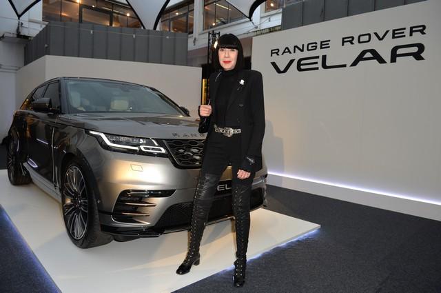 Le Range Rover Velar s'est dévoilé sur les toits de Paris 642937corpo0030