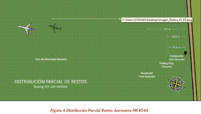 Accident B727-200F Aerosucre 644345hk2