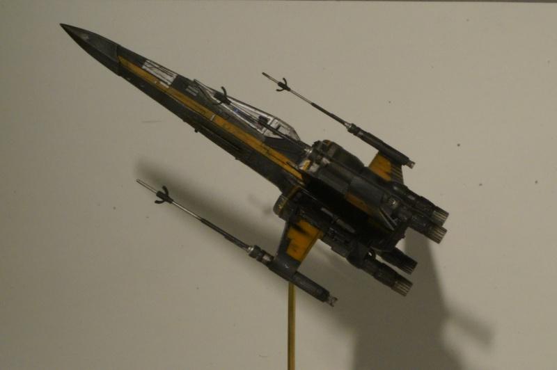 "X-Wing ""Resistance"" T-70 Bandaï 1/72 644749DSC01533"