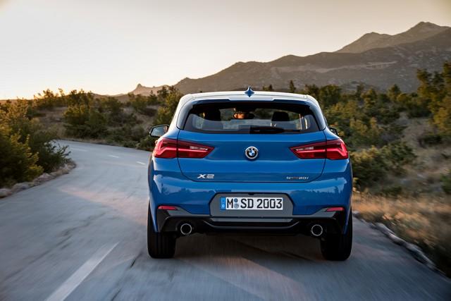 La nouvelle BMW X2 Silhouette élégante, dynamique exceptionnelle 648285P90278927highResthebrandnewbmwx2