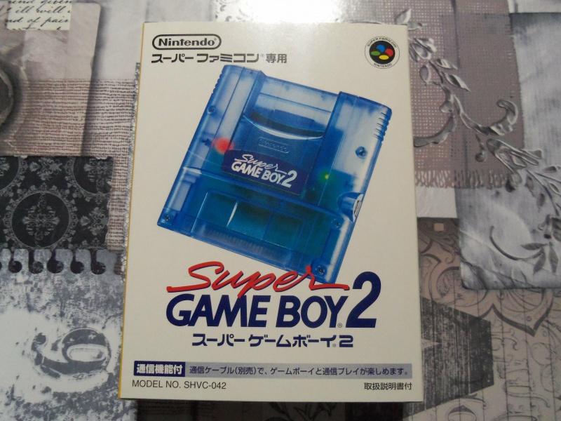 [EST] Super Gameboy Player 2 neuf en boite + SGB commander HORI  6484871004014