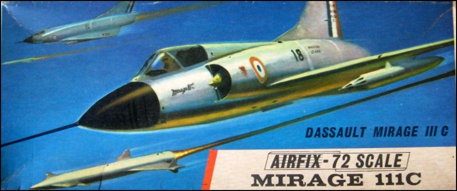 MIRAGE lll c   Airfix   72°  652259Capturerm111