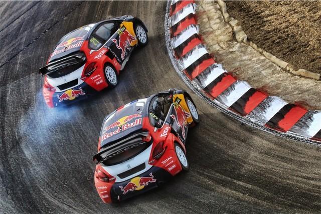 Rallycross - Beau podium de Sébastien Loeb et la PEUGEOT 208 WRX à domicile 6524692016RXFrance725