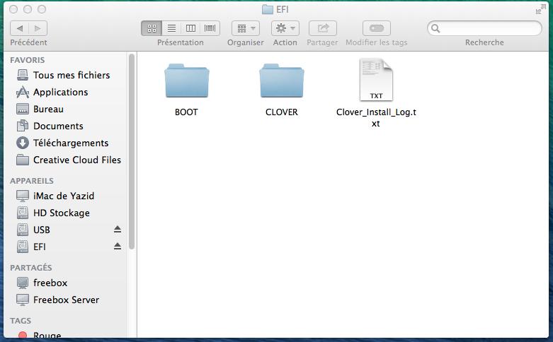 Clover OS X Mavericks V13  652669Sanstitre005