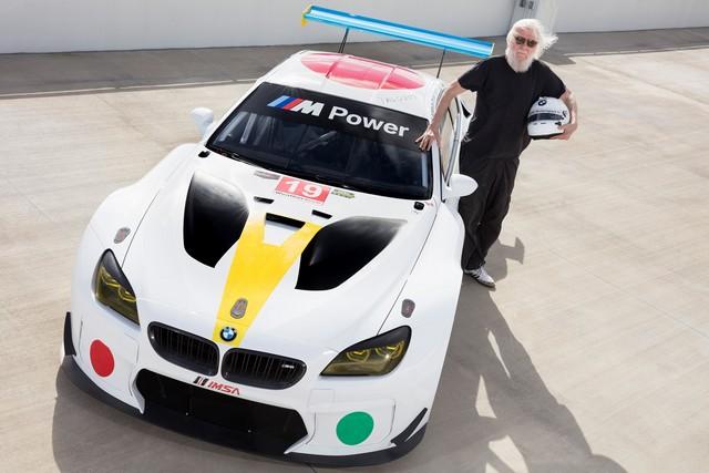 La BMW Art Car créée par John Baldessari dévoilée à Art Basel Miami Beach 2016 652818P90243784highResrenownedamericanco