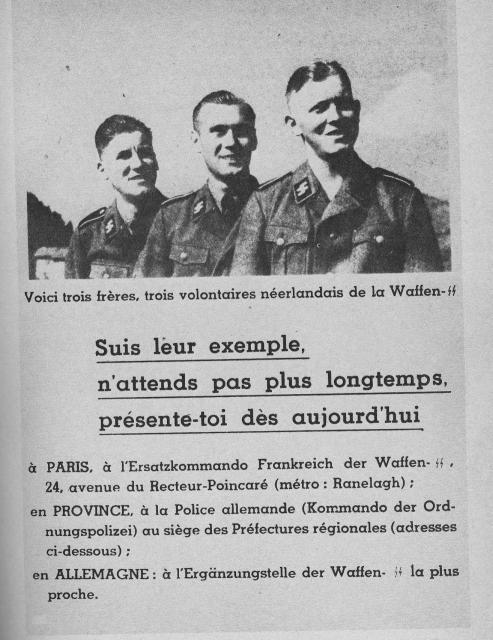 Propagande Francaise pour la SS 653329propagande2