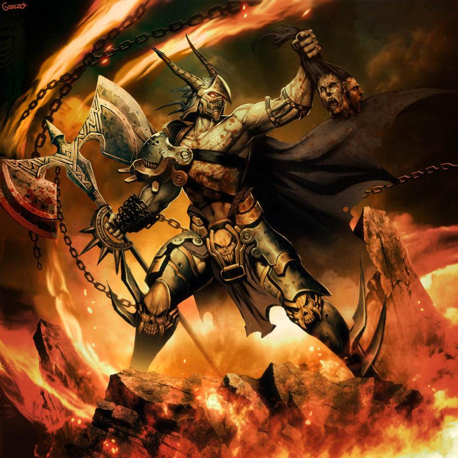 [Warhammer Fantasy Battle] Images du Chaos  653868thewildhuntbygenzoman