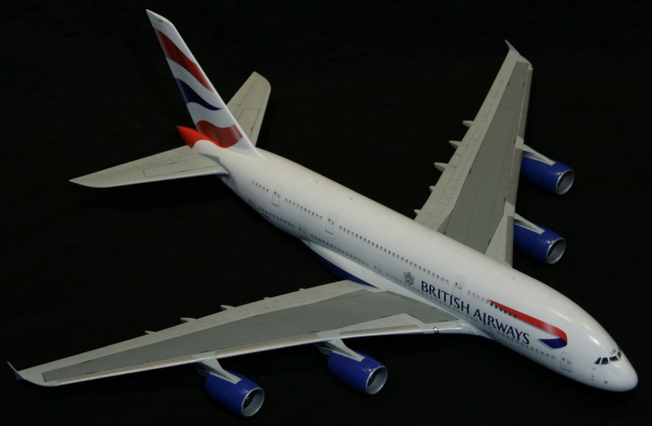 A380-800 British Airways Revell.1/144° 654475MG0695