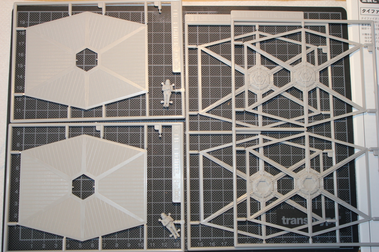Star Wars [Tie Fighter] Fine Molds 1 : 72 656123DPP1103