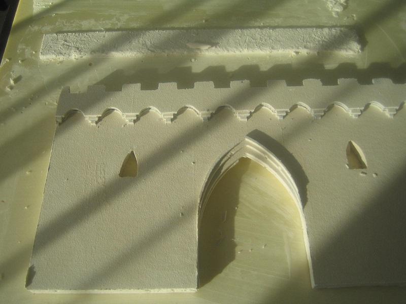 [Tuto] Remparts en plâtre - Moule en polystyrène 656385TECMordheim35