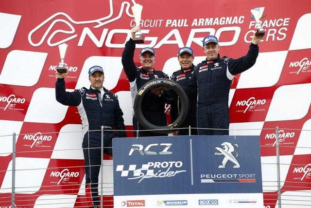 Rencontres Peugeot Sport - Quatre Titres Distribués A Nogaro ! 6565705827642368bf6