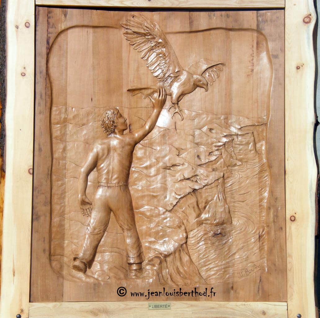 Exposition Jean-Louis Berthod - 01/10 au 31/10/2016 - SAVOIE 657377liberte