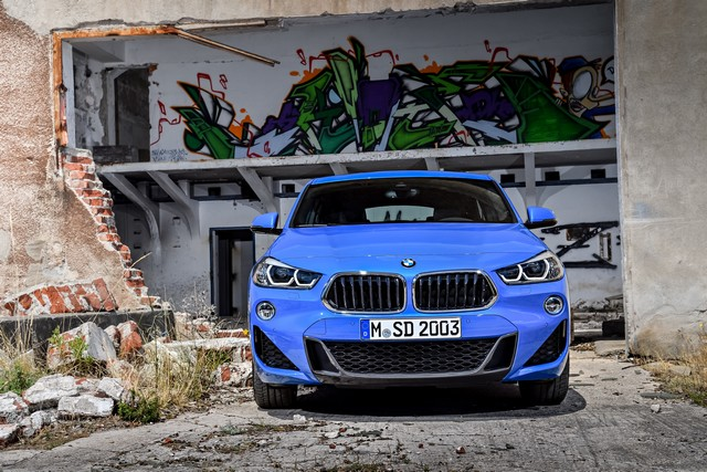 La nouvelle BMW X2 Silhouette élégante, dynamique exceptionnelle 657688P90278938highResthebrandnewbmwx2