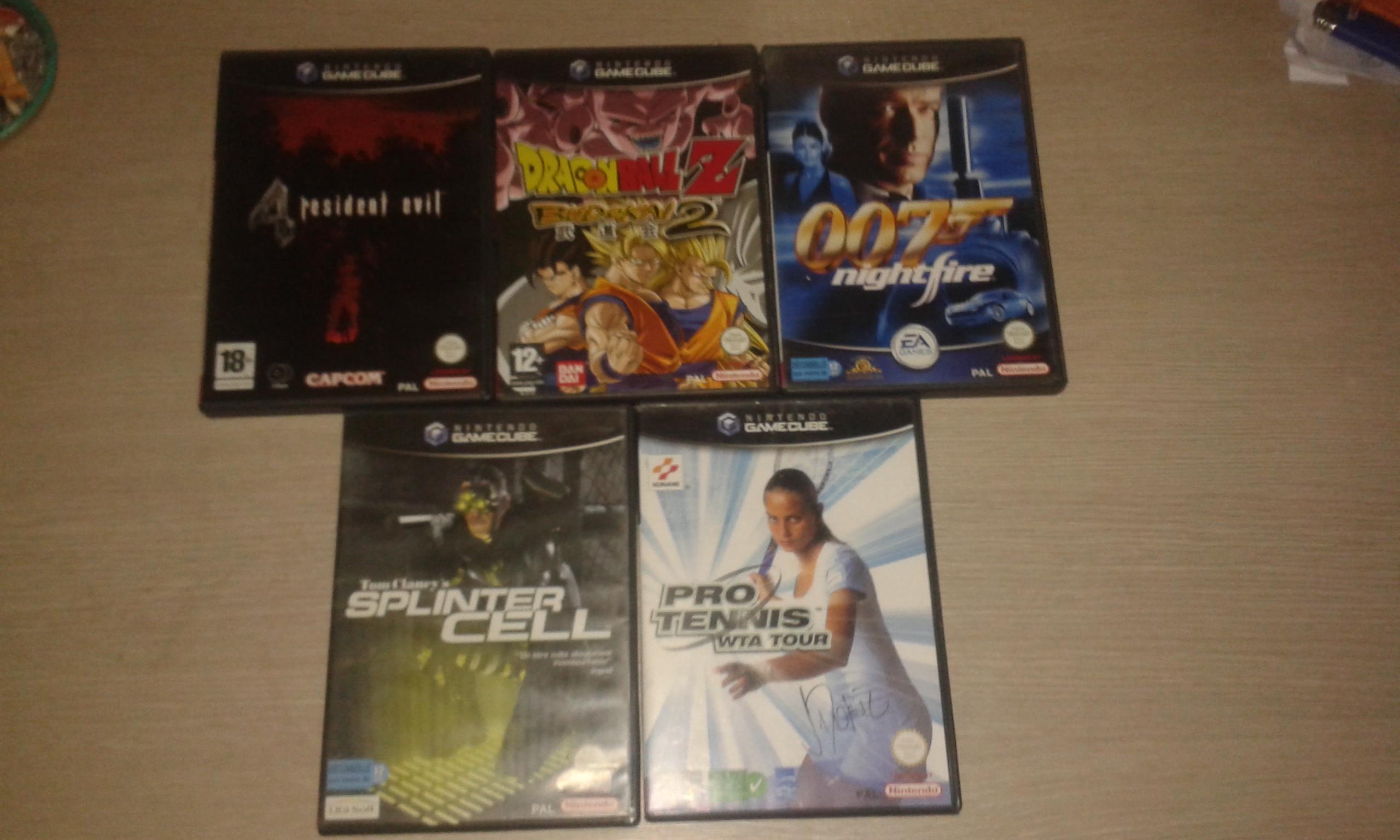 [EST] Lot console gamecube + 11 jeux ! 659714gc456