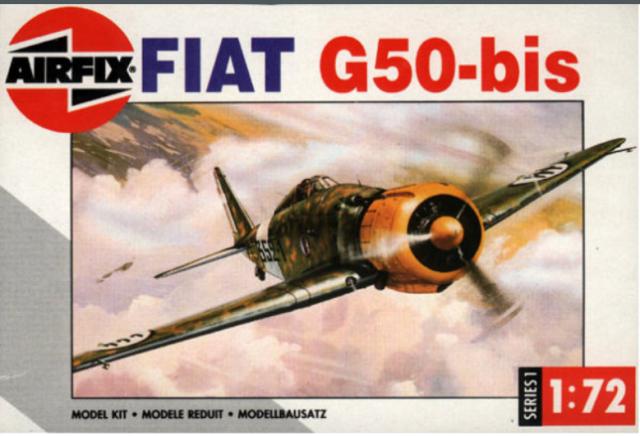 FIAT G.50 B. Airfix  661878fa4badc7a15bbc354d17f4887f6b3107