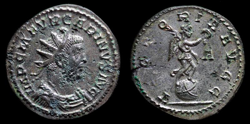 Image du triomphe au IIIe siècle, la Victoire sur un globe.  662082IMG2883