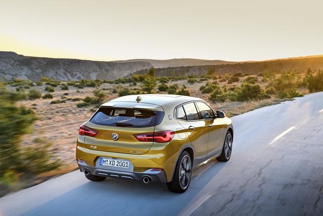 La nouvelle BMW X2 Silhouette élégante, dynamique exceptionnelle 665316P90278985highResthebrandnewbmwx2