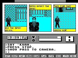 Le meilleur jeu d'aventure textuel/graphique de l'histoire de la micro 665767730821kwahzxspectrumscreenshotinsidethegroundsofthemansion