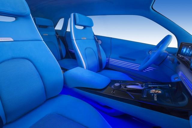 Hyundai a dévoilé son concept Fuel Cell nouvelle génération au salon de l'automobile de Genève 669094FEFuelCellConceptInterior3
