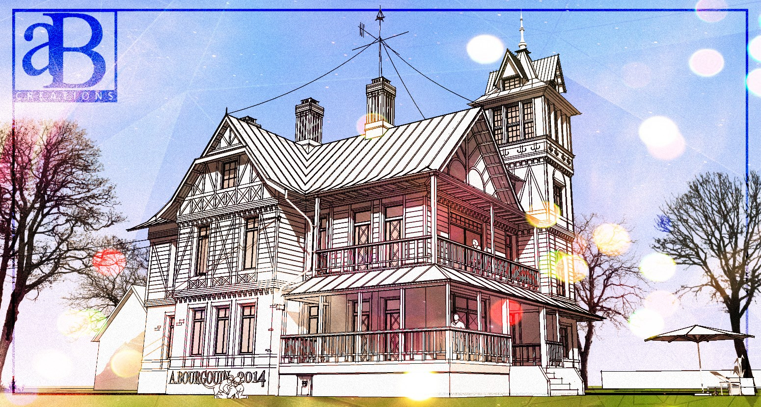 SketchUp'eur architecte -AnthO'- - Page 28 671387maisonrusseFINALINTERNET