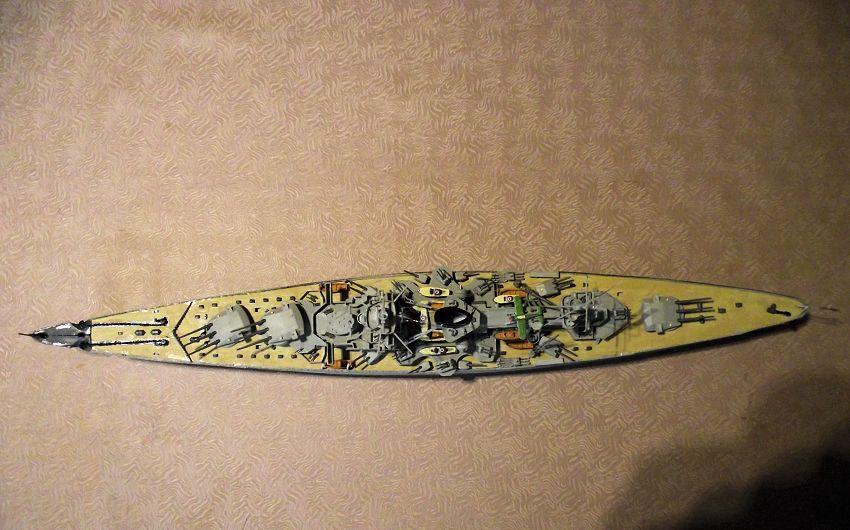 Croiseur de bataille Scharnhorst Heller au 1x400 672315Scharnhorst1x40029