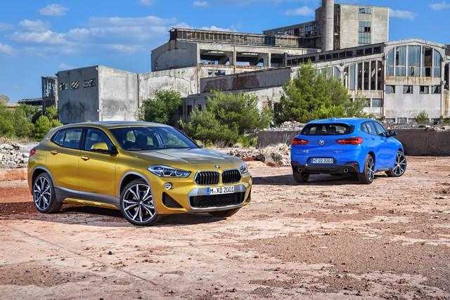 La nouvelle BMW X2 Silhouette élégante, dynamique exceptionnelle 672447P90278989highResthebrandnewbmwx2