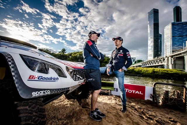 Peugeot dans les starting-blocks pour le Silk Way Rally ! 675817595f836c0dc82
