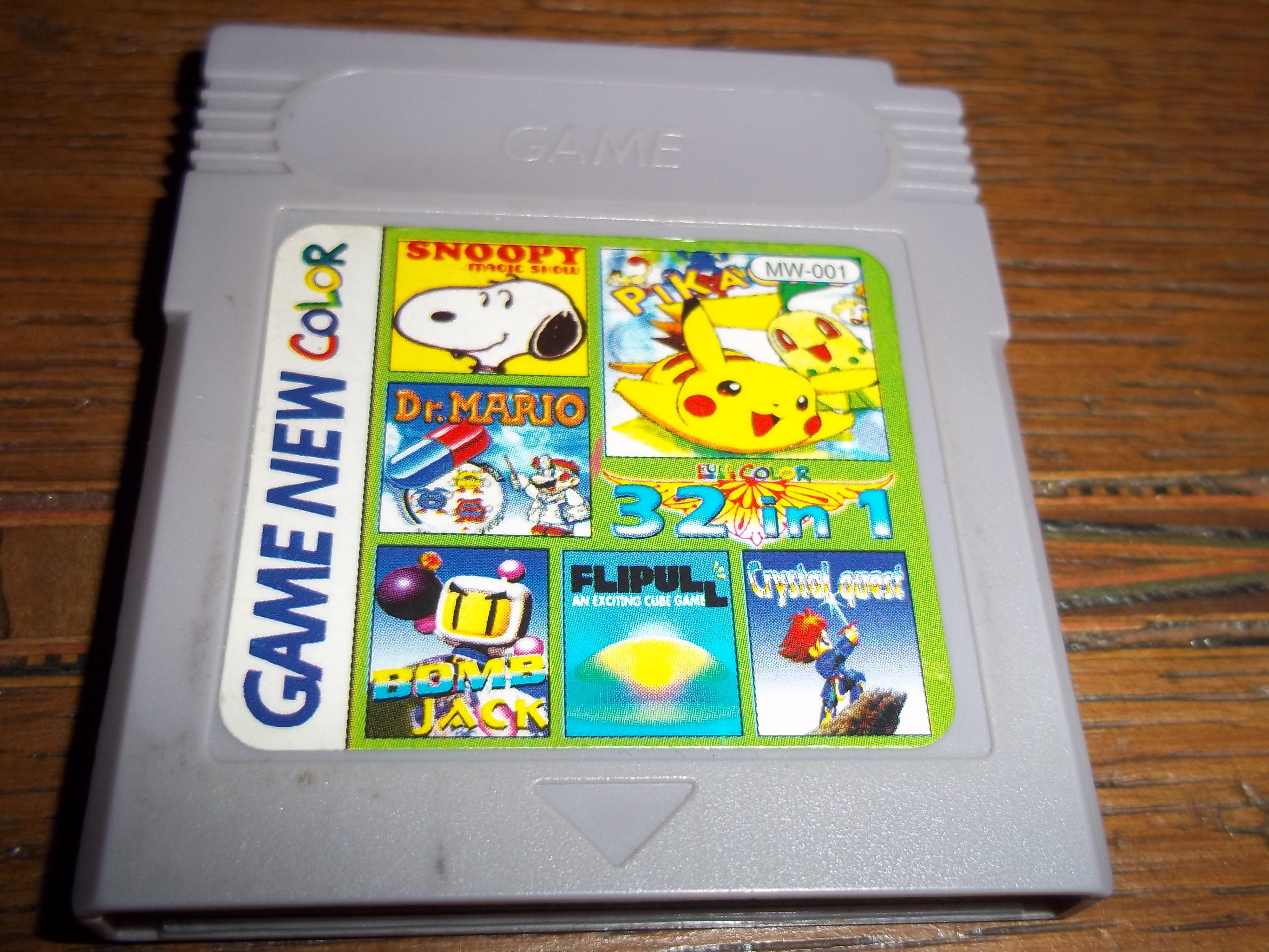 jeu de game boy étrange 6762981001940