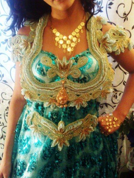 فساتين تقليدية للعروس الجزائرية-----سطايفي 676485svert2