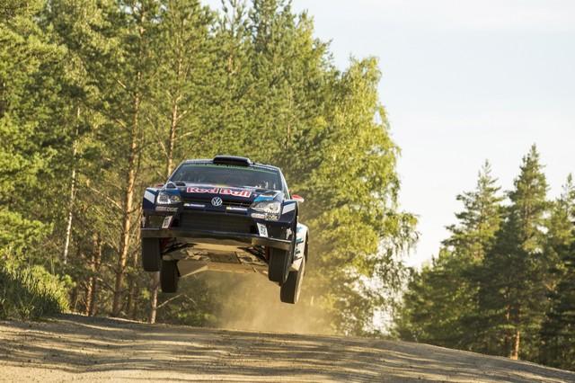 Rallye de Finlande : les trois Volkswagen Polo R WRC en tête des « essais libres » 681994hd0120160728vwmswrc201608finnlandshakedown1
