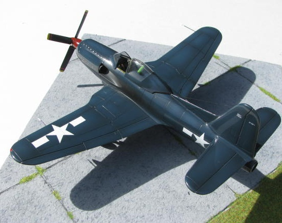 Montage terminé: Ryan XF2R-1 Czech Model 1/48 683394IMG1400