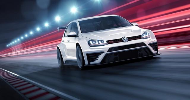 Volkswagen Golf GTI TCR : une Golf de 330 ch pour des écuries clientes avec le label GTI  684358mdtcrfront