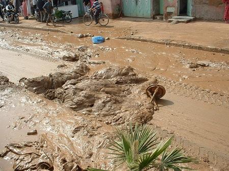أمطار طوفانية «تضرب» مراكش وتعيد شبح فاجعة «أوريكا» 684508DSCF0180