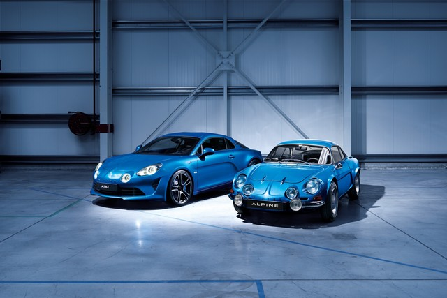 Alpine est de retour - A110, la voiture de sport française agile et compacte 6871178834516