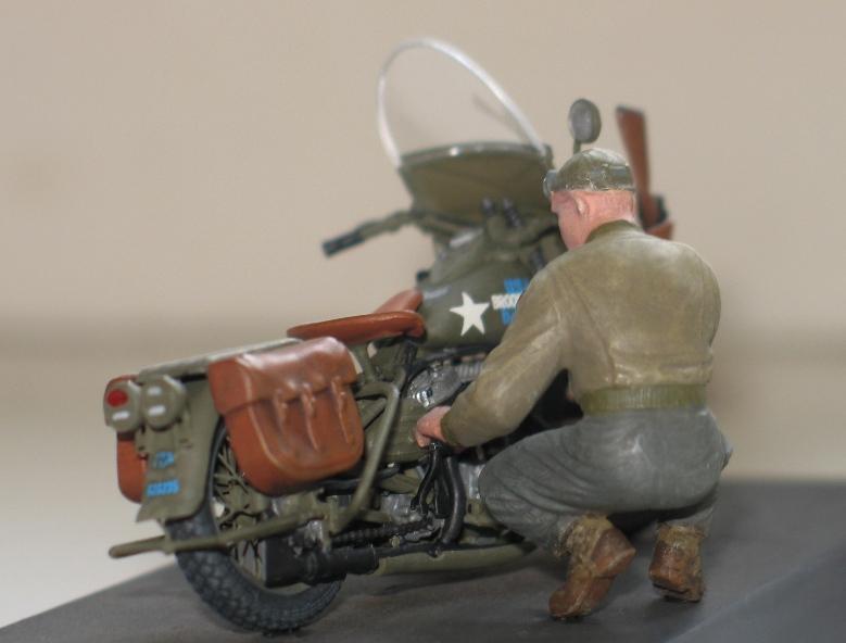 Harley WLA US Army WW2  Miniart 1/35 690090IMG0140
