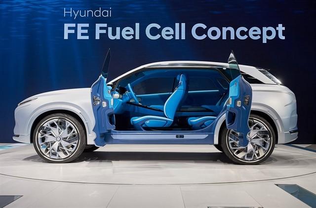 Hyundai a dévoilé son concept Fuel Cell nouvelle génération au salon de l'automobile de Genève 691743FEFuelCellConcept